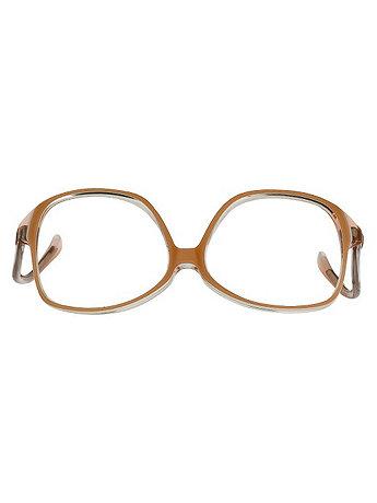 Vintage Lux Peach Butterfly Eyeglasses