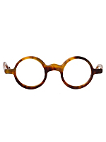Vintage Le Club Optique Round Tortoise Shell Eyeglasses