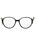 Vintage Logo Paris Black/Gold Eyeglasses