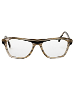 Vintage Gerard Levet Striped Translucent Eyeglasses