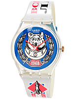Vintage Swatch Space Dog Watch