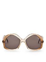 Vintage Comex Pentagon Ombre Sunglasses