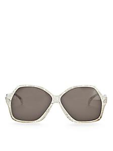 Vintage Jacques Esterel Lace Butterfly Sunglasses