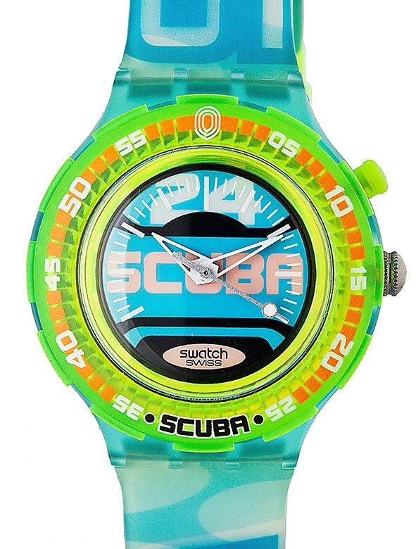 Vintage Swatch Scuba 200 Aquazone Watch