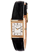 Seiko Roman Numerals Ladies' Leather Band Watch