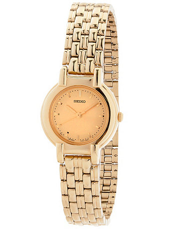 Seiko Gold Ladies' Metal Band Watch