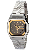 Citizen Graphite/Gold/Silver Ladies' Metal Band Watch