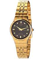 Citizen Black/Gold Club Design Ladies' Metal Band Watch