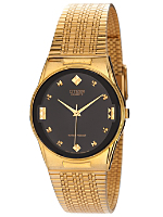 Citizen Black/Gold Shapes Metal Band Watch