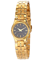 Citizen Navy/Gold Ladies' Metal Band Watch