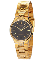 Citizen Black/Gold Metal Band Watch