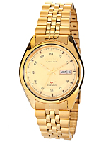 Citizen Automatic 21 Jewels Gold Metal Band Watch