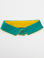 California Select Originals Two-Tone Silk Collar