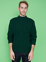 Vintage United Colors of Benetton Cable Knit Wool Sweater