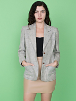 Vintage Tweed Wool Blazer