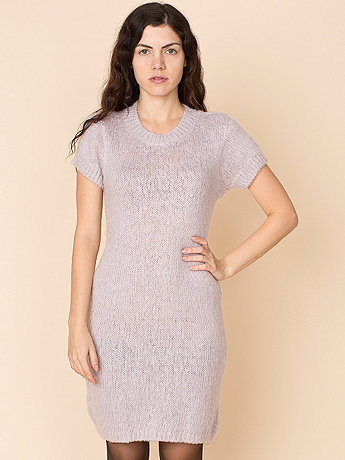 Vintage Mohair Knit Body Con Dress