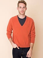 Vintage Lambswool V-Neck Sweater