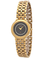Citizen Black/Gold/Silver Stars Ladies' Metal Band Watch