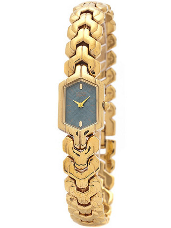 Citizen Silvery Blue/Gold Ladies' Metal Band Watch