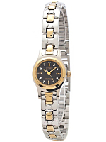 Citizen Black/Silver/Gold Ladies' Metal Band Watch
