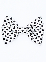 California Select Originals Polka Dot Bow Hair Clip