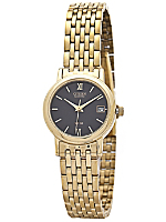 Citizen Black/Gold Ladies' Metal Band Watch