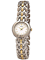 Seiko Silver/Gold Ladies' Chain Link Watch