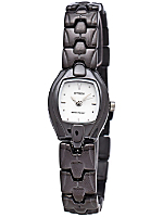 Citizen Silver/Gunmetal Ladies' Metal Band Watch