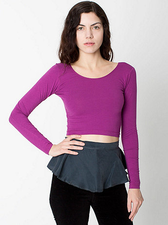 California Select Originals Slate Silk Peplum