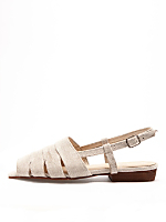 Cut-Out Sling Back Sandal