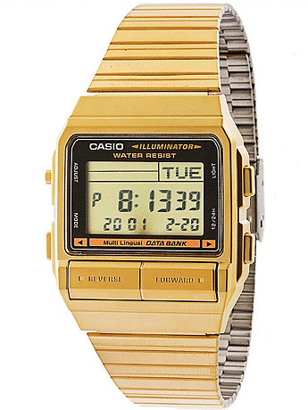 DB380G-1D Casio Gold & Black Digital Watch
