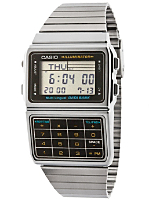 DBC611-1D Casio Silver & Black Digital Watch