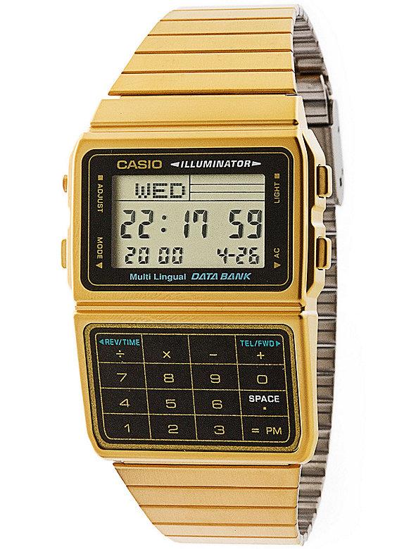 DBC611G-1D Casio Gold & Black Digital Watch