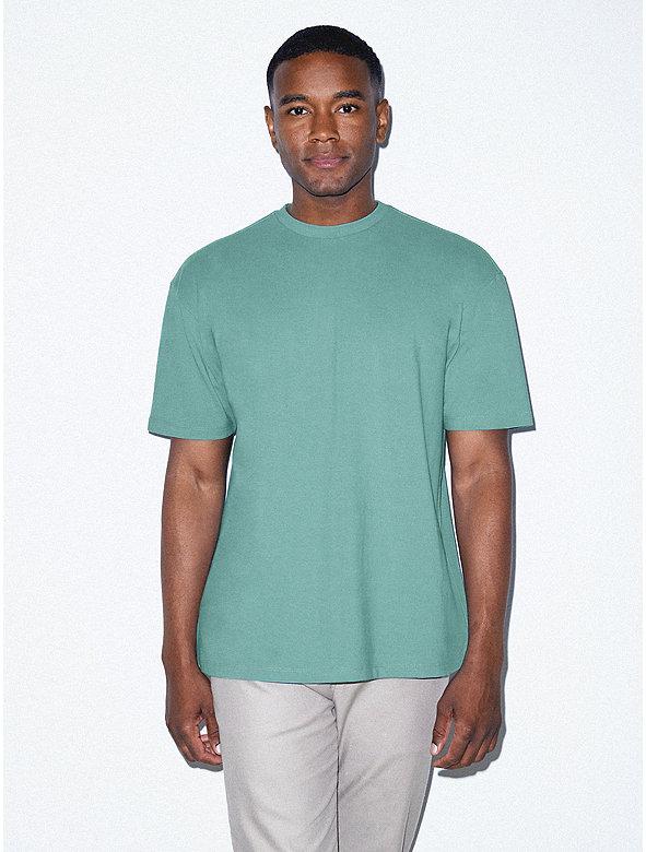 Crisp Cotton Drop Shoulder Tshirt