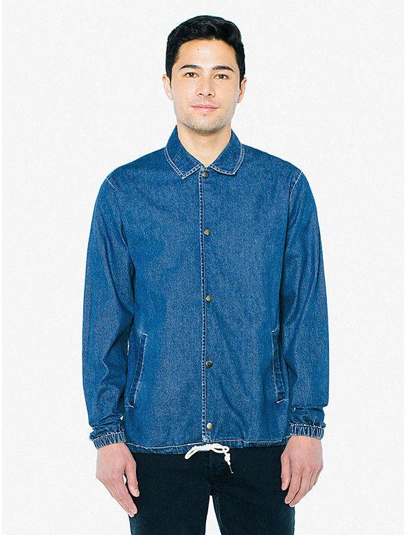Denim Coach Jacket