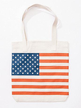 USA Flag Tote