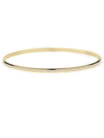 Creme Bangle Bracelet