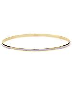 Lilac Bangle Bracelet