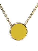 Sunshine Circle Necklace