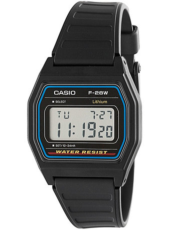 F28W-1 Casio Resin Digital Watch