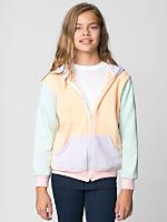 Color Block Youth Flex Fleece Zip Hoodie
