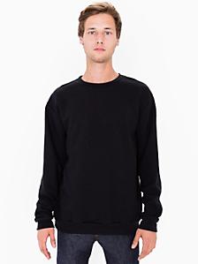 Flex Fleece Crewneck Pullover Drop Shoulder Sweatshirt