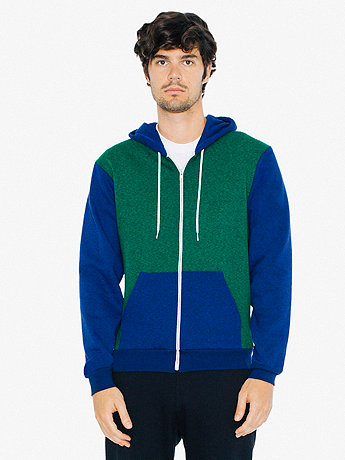 Flex Fleece Two-Tone Zip Hoodie
