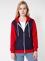 Unisex Flex Fleece Two-Tone Zip Hoodie