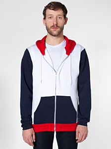 Flex Fleece Color Block Zip Hoodie