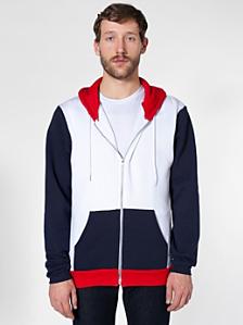 Flex Fleece Color Block Zip Hoodie