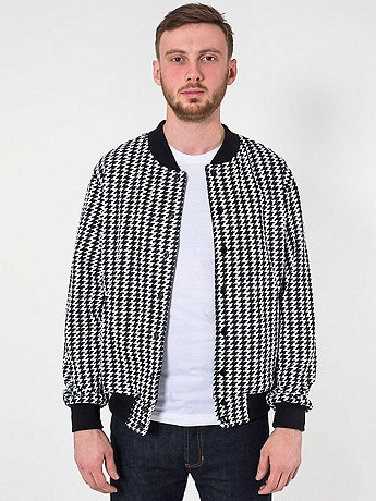 Houndstooth Flex Fleece Club Jacket