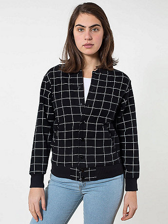 Unisex Printed Flex Fleece Club Jacket