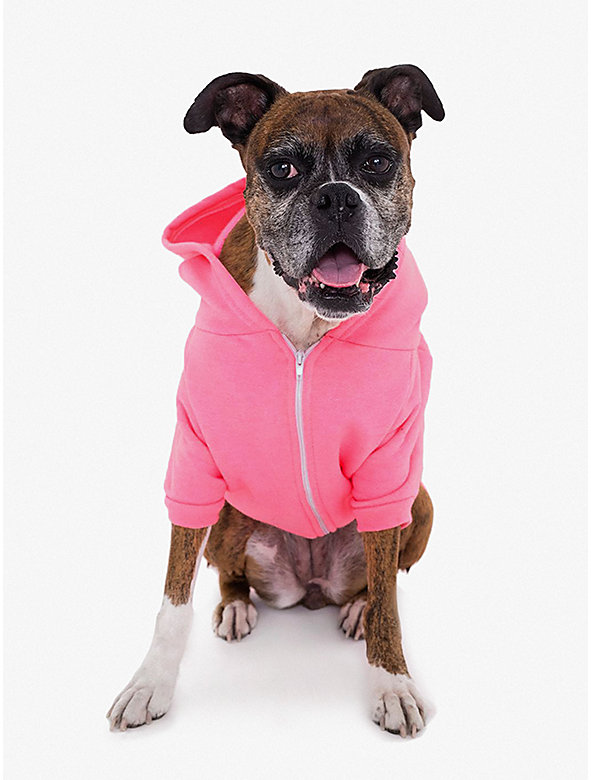 Flex Fleece Large Dog Zip Hoodie
