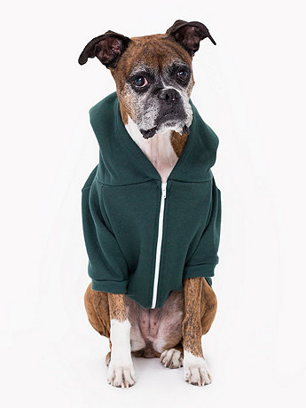 Forest Flex Fleece Dog Zip Hoodie (XL-2XL)